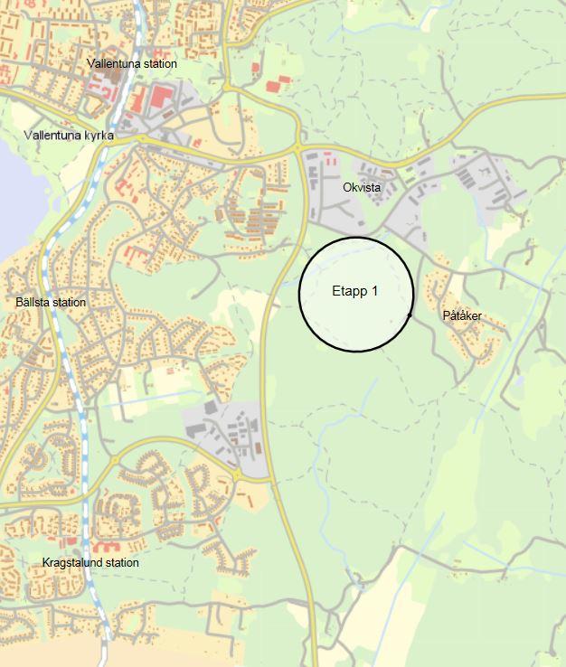 Detaljplan Kristineberg Etapp 1 Vallentuna Kommun